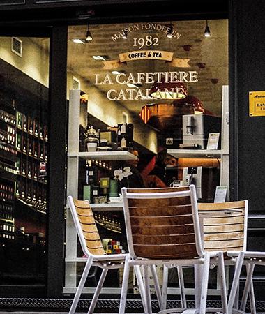 Nos Boutique • Centre Ville de Perpignan • La Cafetière Catalane